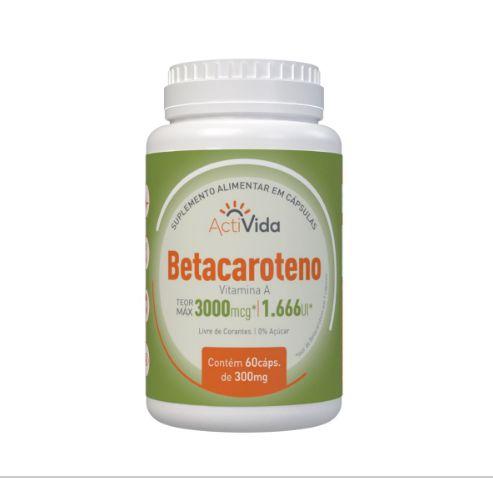 Betacaroteno - 60 Caps
