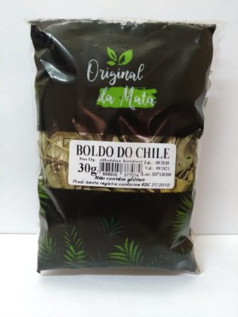Boldo do Chile - 30gr (Original da Mata)