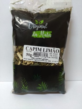 Capim Limão - 50gr (Original da mata)