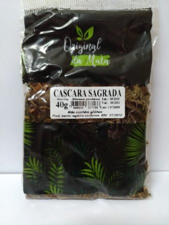 Cascara Sagrada - 40gr (Original da mata)