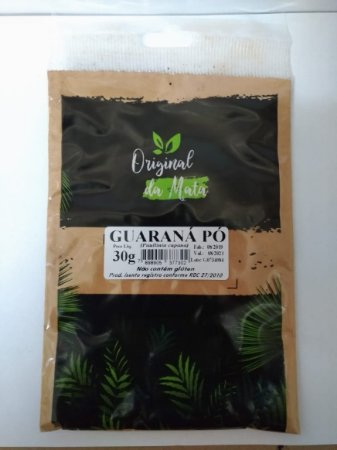 Guaraná Pó - 30gr (Original da mata)