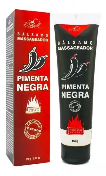 Balsamo Massageador Pimenta Negra