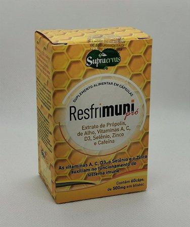RESFRIMUNI PRO BLISTER 60 CAPS 500MG