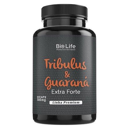 TRIBULUS & GUARANÁ - 60 CÁPSULAS - 500mg
