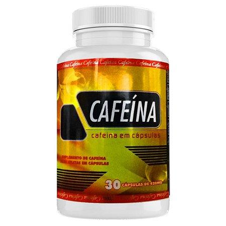 CAFEÍNA - 30 CÁPSULAS - 420mg