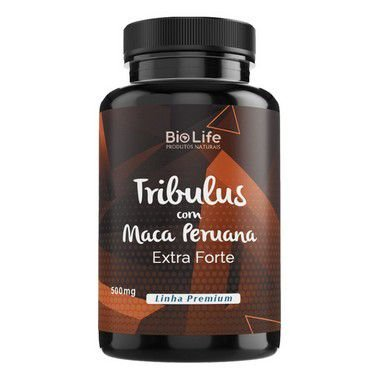 TRIBULUS COM MACA PERUANA - 100 CÁPSULAS - 500mg