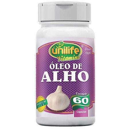 Óleo de Alho Unilife - 60 cápsulas