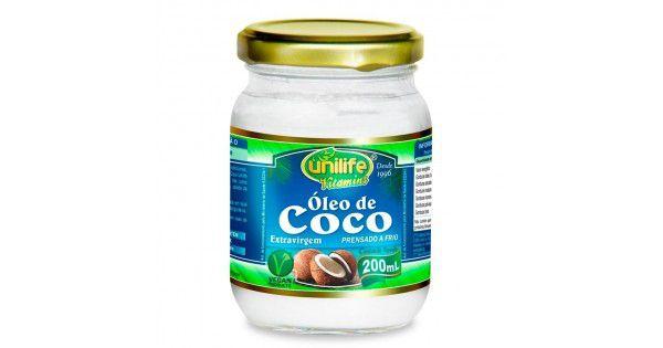 Óleo de Coco  Unilife - 200ml