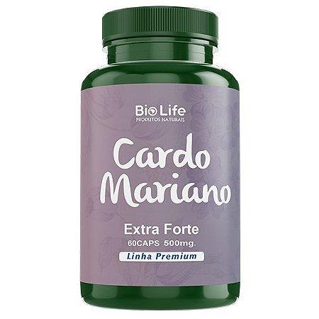 Cardo Mariano - 60 Cápsulas - 500mg