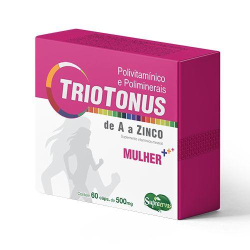 TrioTonus Mulher - POLIVITAMINICO - 60 CÁPSULAS - Blister