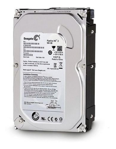 HD Interno 500GB Seagate Pipeline