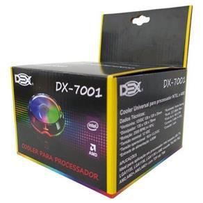 Cooler para Processador RGB Dex DX-7001