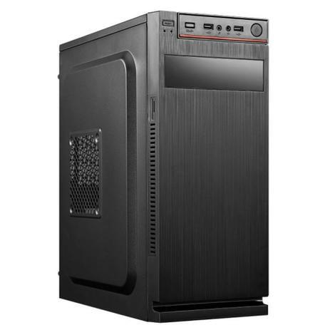 Computador, Gabinete com fonte, Processador AMD AM4 ATHLON 3000G, Placa Mãe Biostar A320M, Memória DDR4 8GB, SSD 120GB