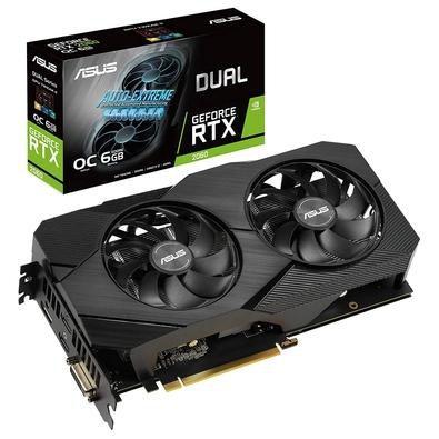 Placa de Vídeo Geforce RTX 2060 Asus