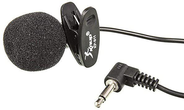 Microfone lapela Knup KP-911