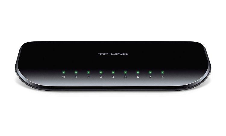 Switch TP Link 8 Portas Gigabit TL-SG1008D