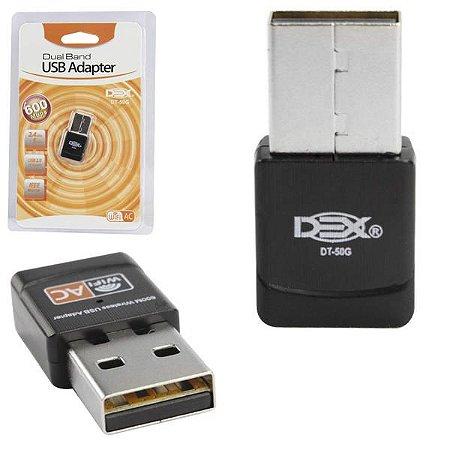 Adaptador Wi Fi Dex DT-50G Dual Band