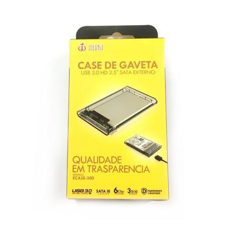 Case para HD 2.5 USB 3.0 INFOKIT ACSE-300