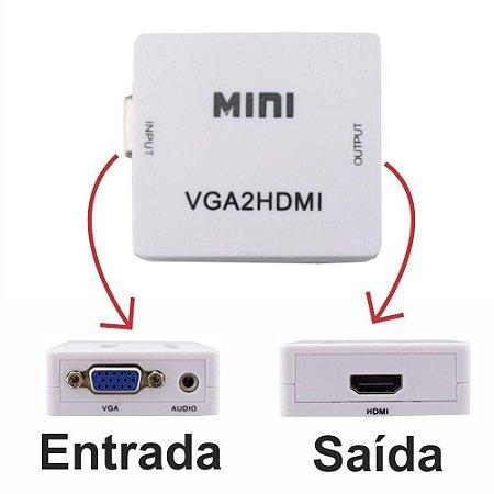 Conversor VGA x HDMI Exbom CC-VH1K