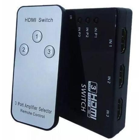 Switch HDMI 3X1 Knup KP-3464