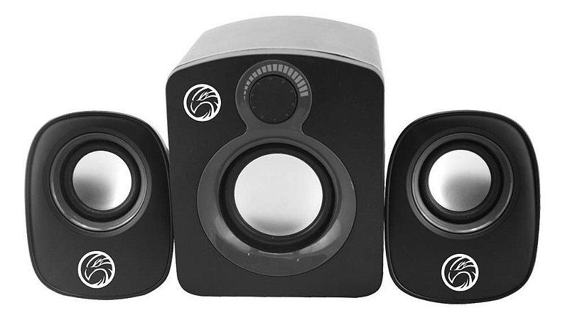 Caixa de som  para PC Brazil PC SP203