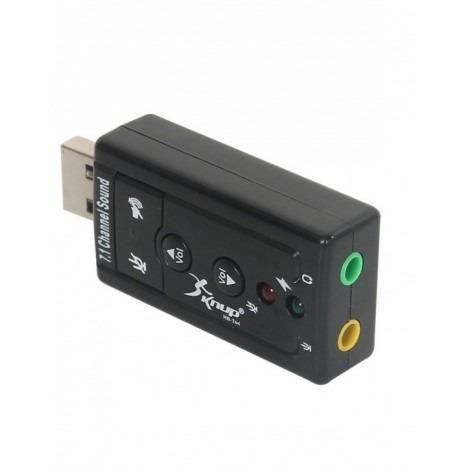 Placa de som USB Knup HB-T64
