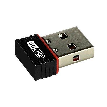 Adaptador WI-FI USB GL-06 GO LINE