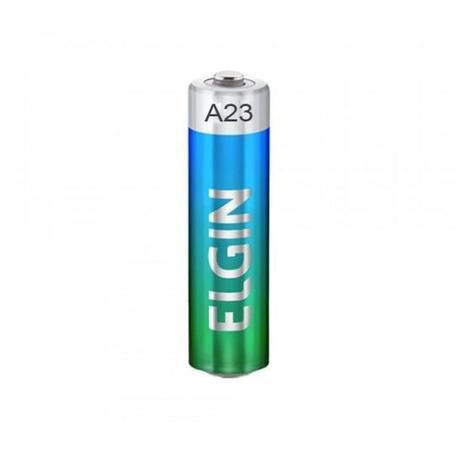 Bateria Alcalina A23 Elgin 1 Unidade