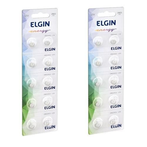 Bateria Alcalina Elgin LR621/AG1