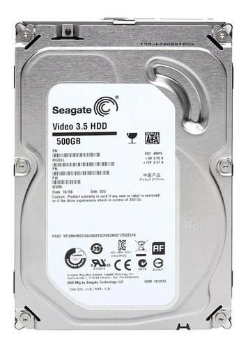 HD Interno Seagate Video 3.5 500GB Remanufaturado