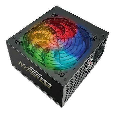 Fonte 750W Real Nyper NL750 RGB