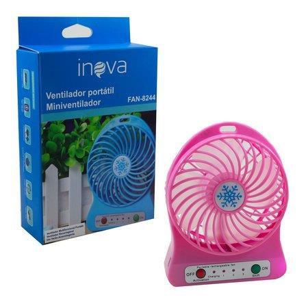 Ventilador Portátil Inova FAN-8244