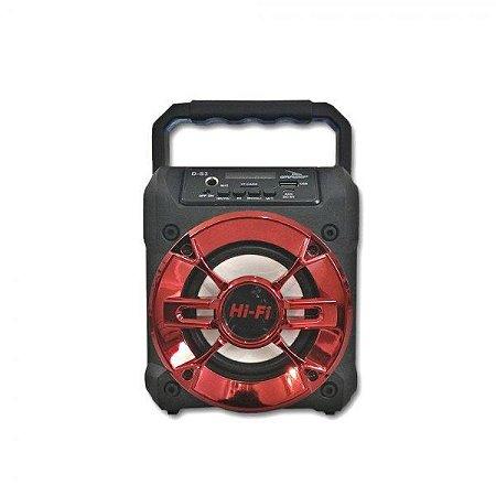 Caixa de Som Grasep D-S3 BT/MP3/USB/SD