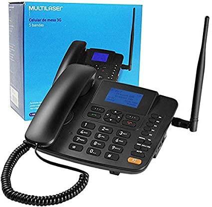 Telefone Fixo 3G Multilaser RE504