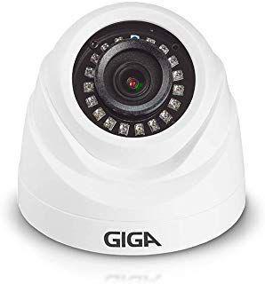 Câmera Giga Dome Plástico ORION 1080P IR 2OM 3.6MM GS0270