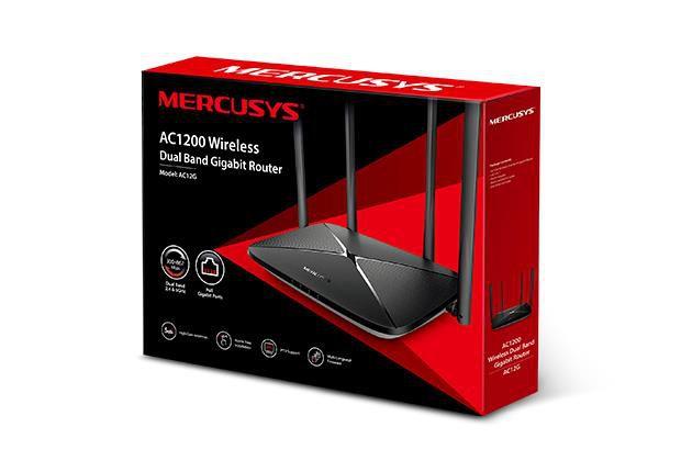 Roteador Mercusys Gigabit AC1200 AC12G