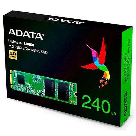 HD SSD M.2 2280 SATA 6GB/s ADATA 240GB