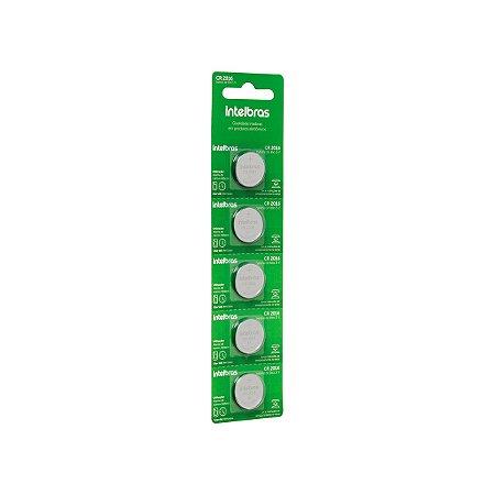 Bateria CR2016 Intelbras Cartela com 5
