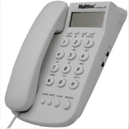 Telefone Fixo Multitoc Company ID MUTE0200