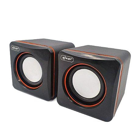 Caixa de Som para PC Knup KP-600