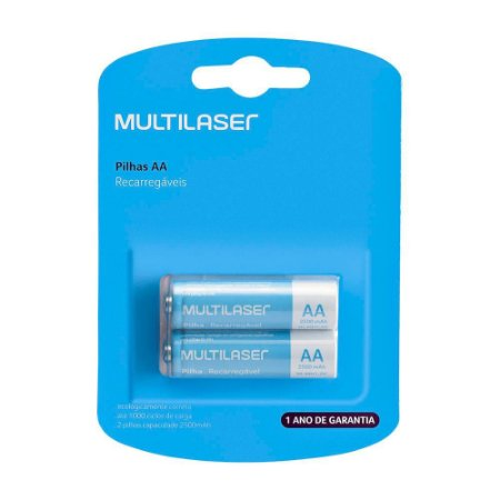 Pilha Recarregavel AA Multilaser CB053