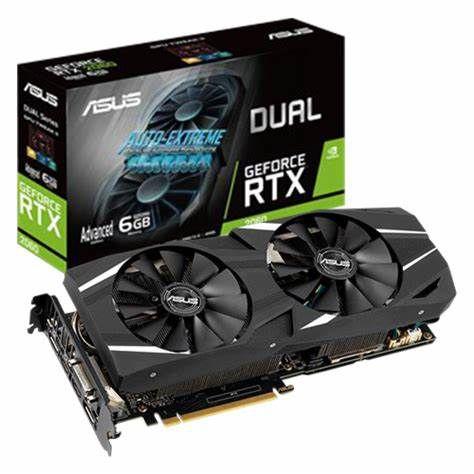 Placa De Video Geforce RTX 2060 6GB ASUS