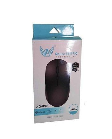 Mouse Sem Fio 2.4GHZ 10M Distancia Altomex AG-830