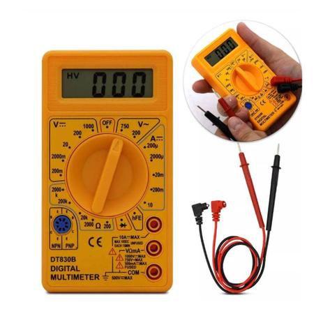 Multímetro Digital DT-830 Com Bateria