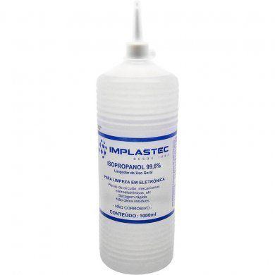 Álcool Isopropílico Implastec 1000ML 99,8%