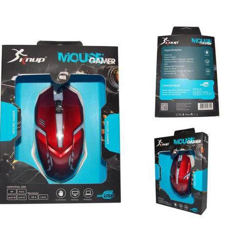 Mouse Gamer  KP-V15 KNUP