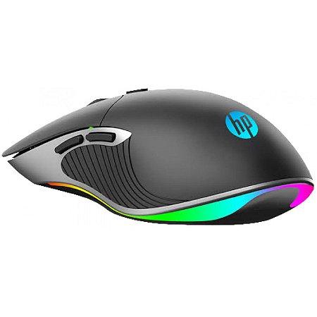 Mouse Gamer HP M280, RGB, 6 Botões, 6400DPI