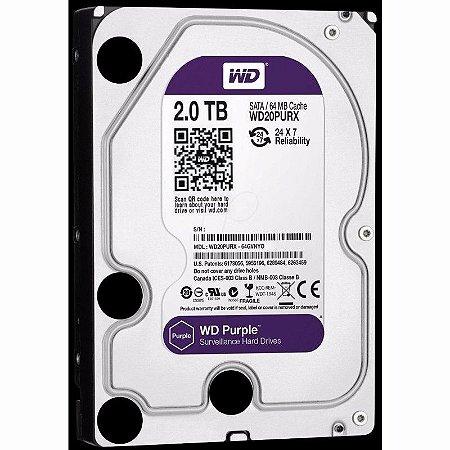 HD Interno 2TB Western Digital Purple