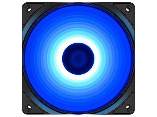 Cooler para Gabinete Deepcool RF120 B, Led Blue, 120mm