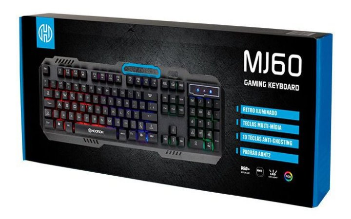 Teclado Gamer Hoopson MJ60